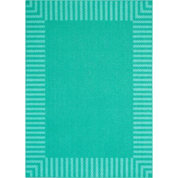 Better Homes and Gardens Border Stripe Textured Print Rug Collection - Walmart.com