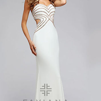 Faviana Strapless Sweetheart Prom Dress FA-S7701