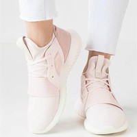 Adidas Tubular Defiant Women Pink Running Sneakers Sport Shoes