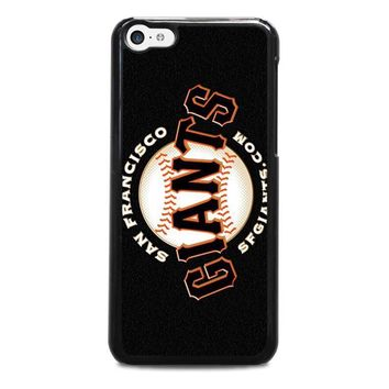 san francisco giants 2 iphone 5c case cover  number 1