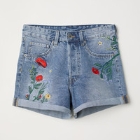 H&M Denim Shorts High Waist $29.99