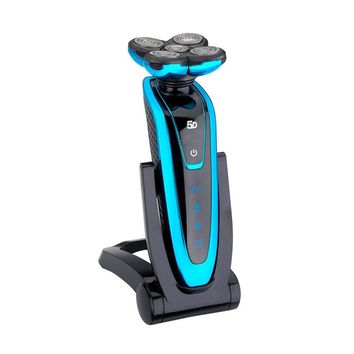 Premium Washable Electric Beard Shaver with Rotating Head