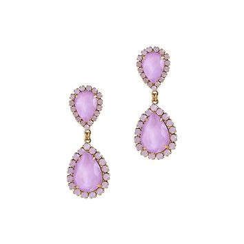 ABBA EARRINGS IN ORCHID