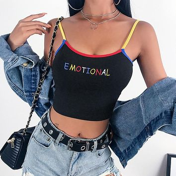 """Emotional"" Primary Color Tank Top"