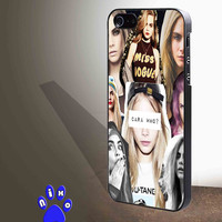 Cara Delevingne Model Sexy Cute Girly Hot for iphone 4/4s/5/5s/5c/6/6+, Samsung S3/S4/S5/S6, iPad 2/3/4/Air/Mini, iPod 4/5, Samsung Note 3/4 Case *NP*