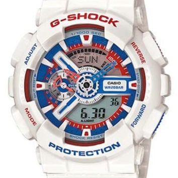 Casio G-Shock Big Case - Tri-Color Maritime Design - Anti-Magnetic - 200M