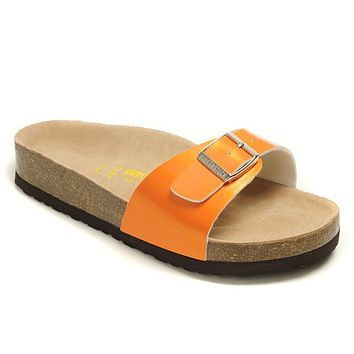 Birkenstock Madrid Sandals Artificial Leather Jacinth - Ready Stock