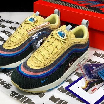 Sean Wotherspoon x Nike Air Max 1/97 VF SW Hybrid Men Women Basketball Running Sports Shoes
