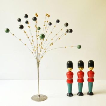 Vintage Mobile Ball Sculpture - Kinetic Flower - Midcentury Modern - Christmas Decoration