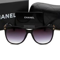 CHANEL Women Casual Sun Shades Eyeglasses Glasses