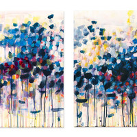 Caroline Wright, New Spring, Acrylic / Lucite, Paintings