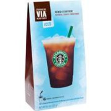 STARBUCKS VIA REFRESHERS ICED 4.16 OZ 6 CT