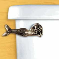 Laying Mermaid Toilet Flush Handle