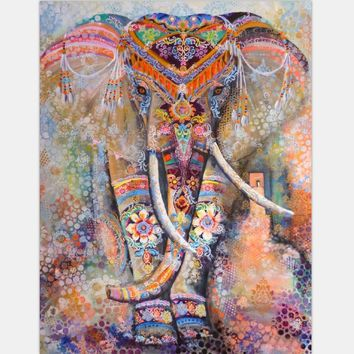 New Indian Elephant Tapestry Mandala Hippie Art Wall Hanging Tapestry Beach Towel Bedspread Throw YogaMat Table Cloth Home Decor