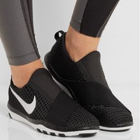 Fashion Online Nike - Free Connect Mesh Sneakers - Black