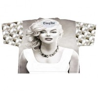 Marilyn Pearl Crop Top