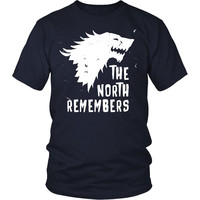 Game of Thrones T Shirt - The North Remembers - TV & Movies
