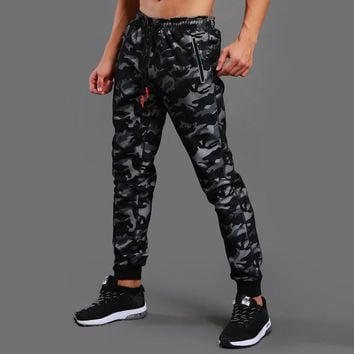 New Run Jogging Pants Men Camo Running Sweatpants Sport Pants Men Bodybuilding Track Pants Rashgard Gym Jogger Crossfit Tight