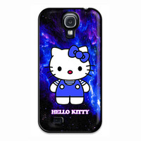 Hello Kitty Blue Galaxy Nebula Samsung Galaxy S4 Case