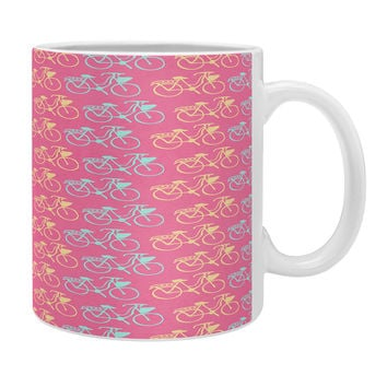 Allyson Johnson Bright Bikes Coffee Mug