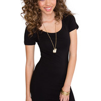 Riviera Basic Dress in Black