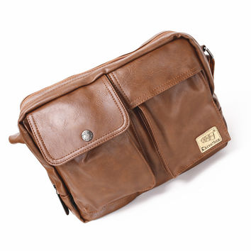 Bags Korean Stylish One Shoulder Men Messenger Bags [6583342599]