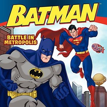 Battle in Metropolis (Batman Classic)