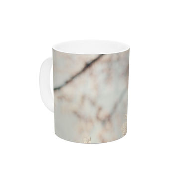 "Catherine McDonald ""Japanese Cherry Blossom"" Ceramic Coffee Mug"