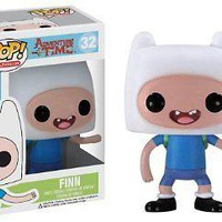 Funko Pop TV: Adventure Time - Finn Vinyl Figure