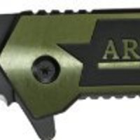 Tac Force Army Spring Assisted Opening Rescue Knife