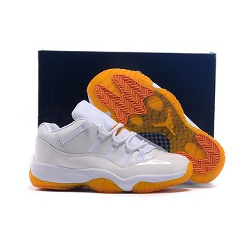 Air Jordan 11 Retro Aj11 Low Girls Citrus Sneaker Shoes Us5.5-8.5 - Beauty Ticks