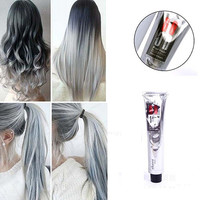 Light Gray Color Natural Permanent Super Hair Dye Cream
