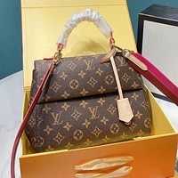 LV Louis Vuitton High Quality Women Shopping Bag Leather Handbag Tote Shoulder Bag Crossbody Satchel