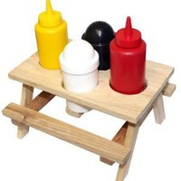 Picnic Table Condiment Set - Buy from Prezzybox.com