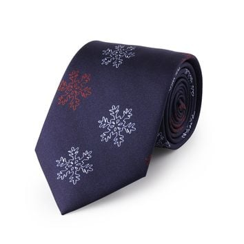 The Night Before Christmas Midnight Blue Neck Tie
