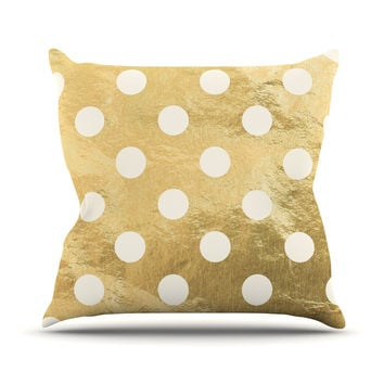 "KESS Original ""Scattered White"" Throw Pillow"
