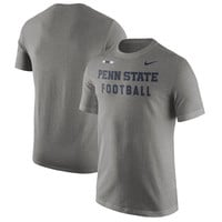 Nike Penn State Nittany Lions Charcoal Facility T-Shirt