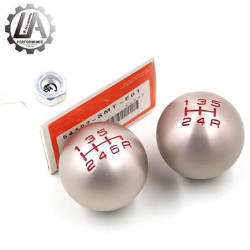 LA racing-MUGEN 5 6 Speed Type-R M10 x 1.5 Thread Aluminum Racing Gear Shift Knob for Honda Civic