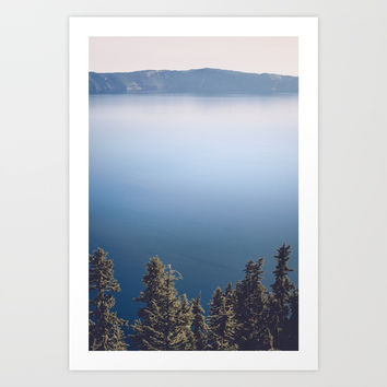 Wild Lake Art Print by Cascadia