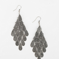 Raindrops Chandelier Earring  - Urban Outfitters
