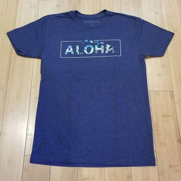 """Local Motion """"Boxed Up"""" Mens Midnight T-Shirt"""