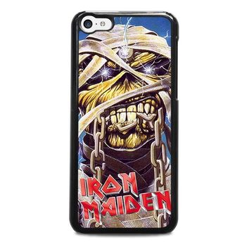 iron maiden iphone 5c case cover  number 1