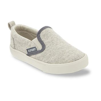 Old Navy Felt Textured Slip On Sneakers