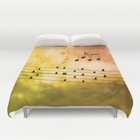 Autumn song Duvet Cover by Pirmin Nohr