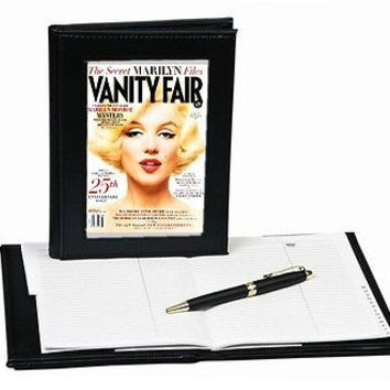 Marilyn Monroe Vanity Fair Cover forever notebook Phone address or Diary book.