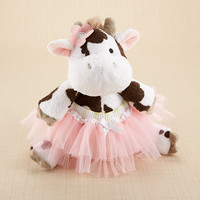 Plush Cow and Bloomer For Baby