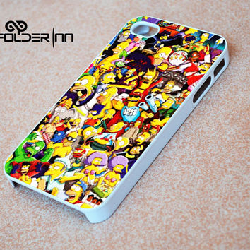 Drawn Cartoons Simpsons iPhone 4s iphone 5 iphone 5s iphone 6 case, Samsung s3 samsung s4 samsung s5 note 3 note 4 case, iPod 4 5 Case