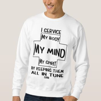 Service Quote by Kat Worth Sweatshirt