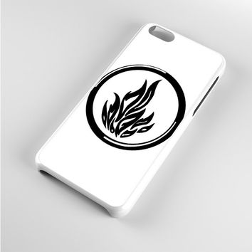 divergent dauntless the brave Black White iPhone 5c Case