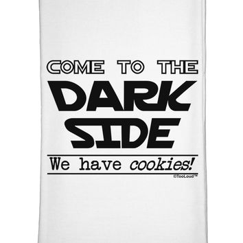 Come To The Dark Side - Cookies Flour Sack Dish Towels by TooLoud